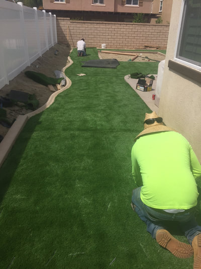Artificial Turf Inland Empire, Synthetic Grass Installation