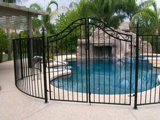 Wrought Iron Gates Courtyard Gate Design Wrought Iron